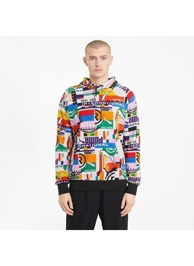 Puma Erkek Beyaz International Sweatshirt 530737.002 Beyaz
